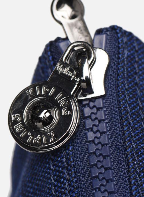 Handtassen kipling Silen Blauw links