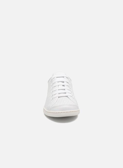 Sneaker Camper Uno 1 weiß schuhe getragen