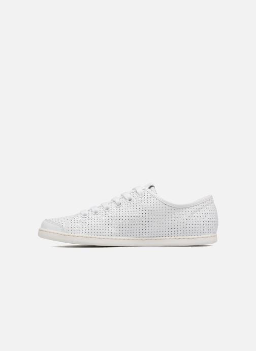 Sneaker Camper Uno 1 weiß ansicht von vorne
