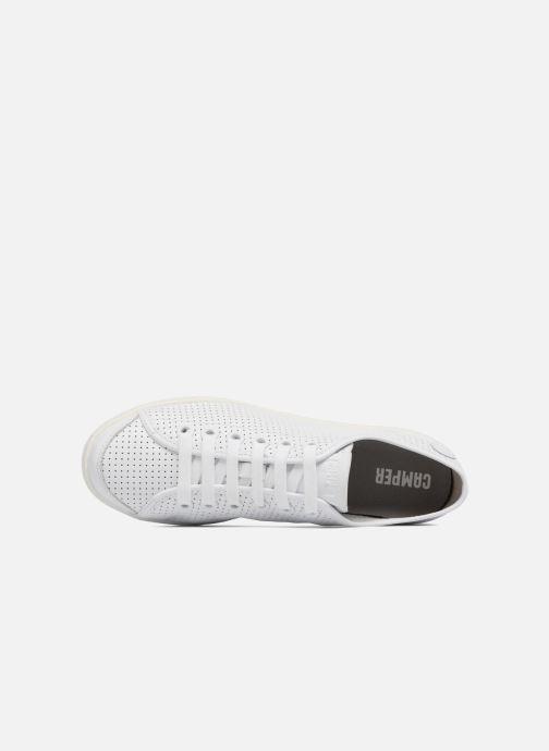 Sneaker Camper Uno 1 weiß ansicht von links