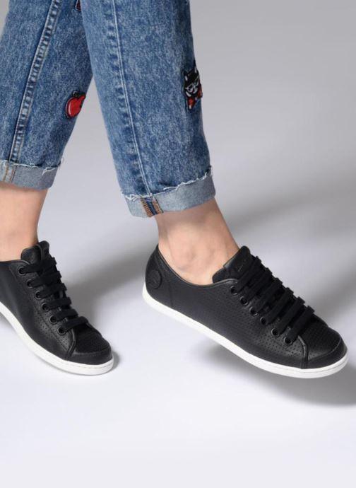 Sneakers Camper Uno 2 Nero immagine dal basso