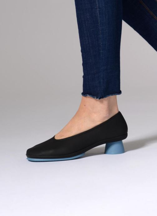 Ballet pumps Camper Alright 1 Black view from underneath / model view