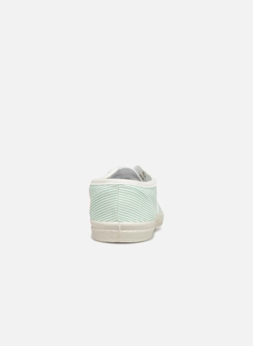 Trainers Bensimon Tennis Elly Indigoprint E Blue view from the right