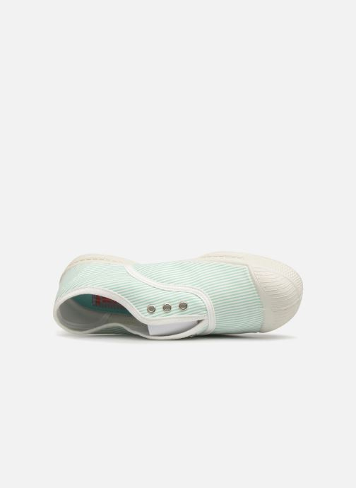 Trainers Bensimon Tennis Elly Indigoprint E Blue view from the left