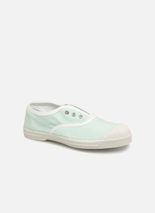 Trainers Bensimon Tennis Elly Indigoprint E Blue detailed view/ Pair view