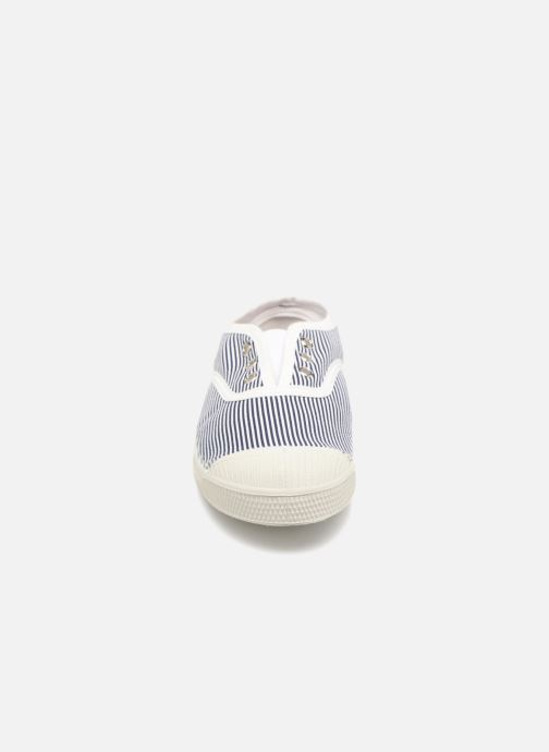 Trainers Bensimon Tennis Elly Fines Rayures E Blue model view