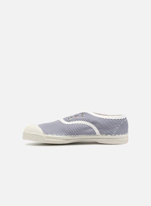 Trainers Bensimon Tennis Elly Fines Rayures E Blue front view