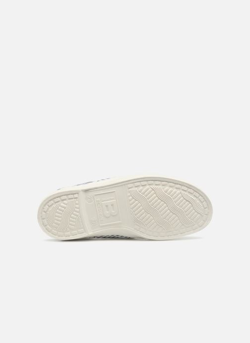 Trainers Bensimon Tennis Elly Fines Rayures E Blue view from above