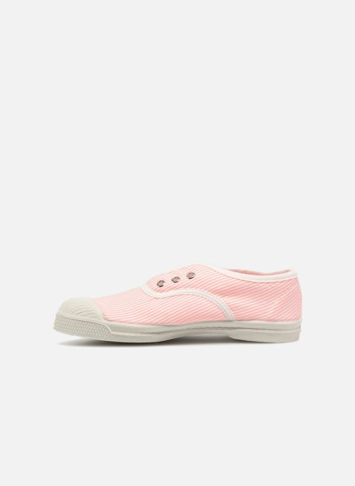 Trainers Bensimon Tennis Elly Fines Rayures E Pink front view