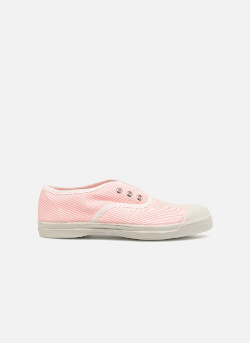 Trainers Bensimon Tennis Elly Fines Rayures E Pink back view