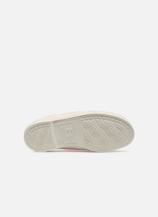 Trainers Bensimon Tennis Elly Fines Rayures E Pink view from above