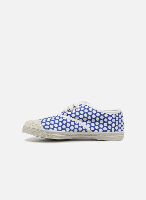 Sneakers Bensimon Tennis Lacets Colorspots E Blå se forfra