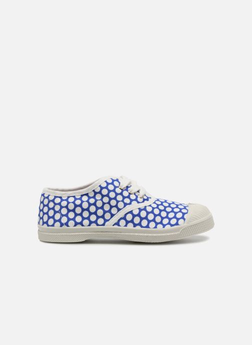 Sneakers Bensimon Tennis Lacets Colorspots E Blå se bagfra
