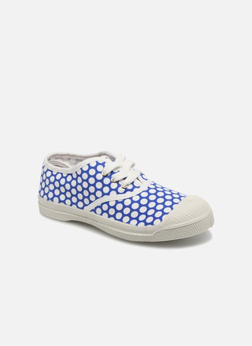 Sneaker Bensimon Tennis Lacets Colorspots E blau detaillierte ansicht/modell