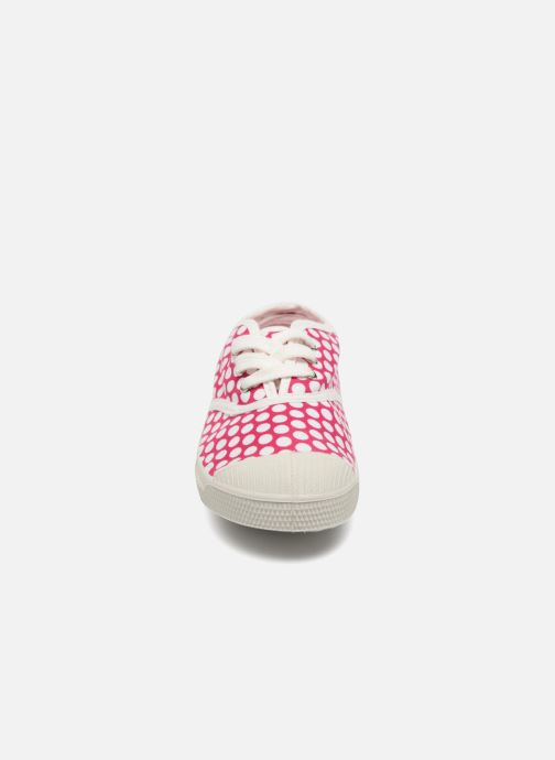 Sneakers Bensimon Tennis Lacets Colorspots E Pink se skoene på