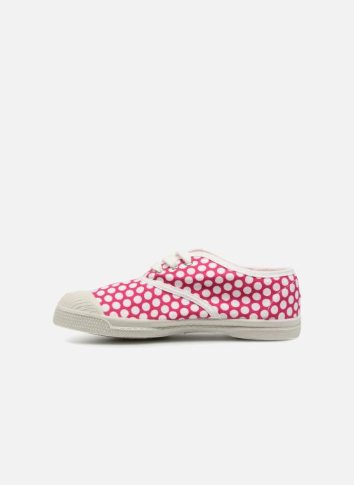 Sneakers Bensimon Tennis Lacets Colorspots E Pink se forfra