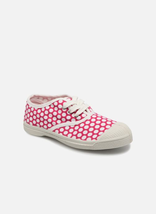 Trainers Bensimon Tennis Lacets Colorspots E Pink detailed view/ Pair view