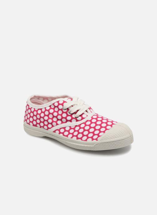 Sneakers Bensimon Tennis Lacets Colorspots E Pink detaljeret billede af skoene