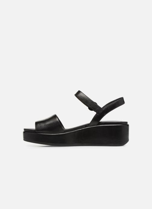 Sandales et nu-pieds Camper Misia 1 Noir vue face