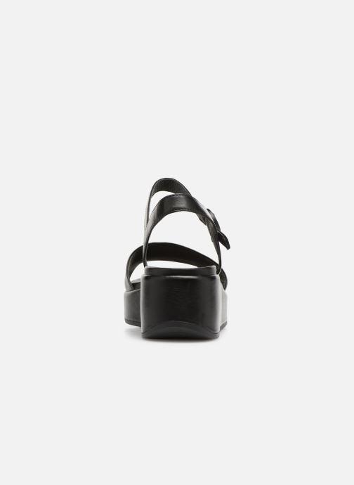 Sandales et nu-pieds Camper Misia 1 Noir vue droite