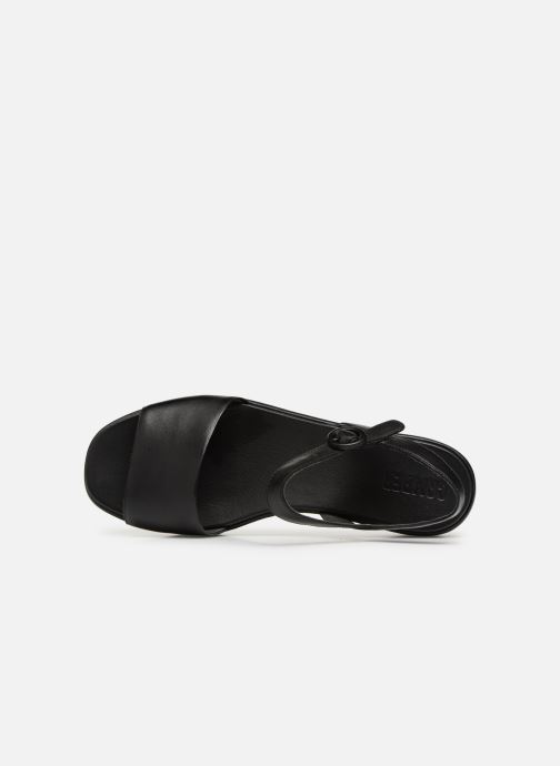 Sandales et nu-pieds Camper Misia 1 Noir vue gauche