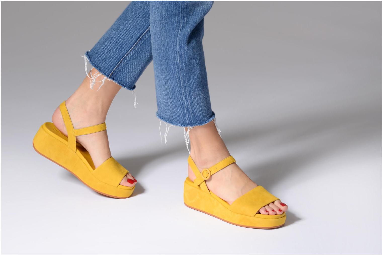 Sandales et nu-pieds Camper Misia 2 Jaune vue bas / vue portée sac