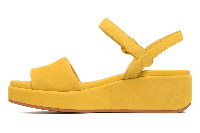 Sandales et nu-pieds Camper Misia 2 Jaune vue face