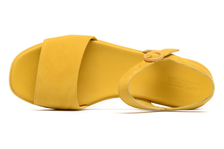 Sandales et nu-pieds Camper Misia 2 Jaune vue gauche