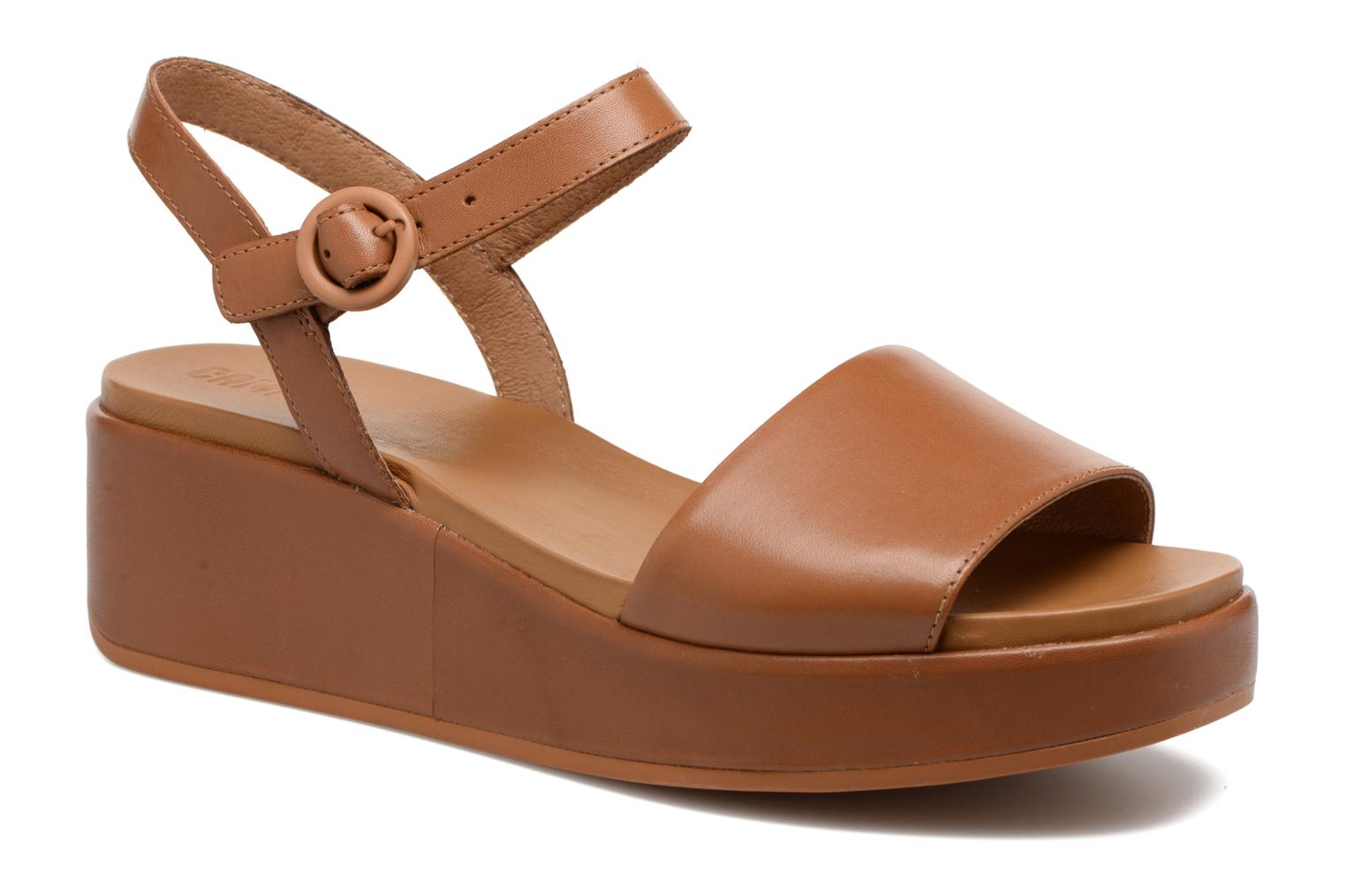 Sandals Camper Misia 4 Brown detailed view/ Pair view