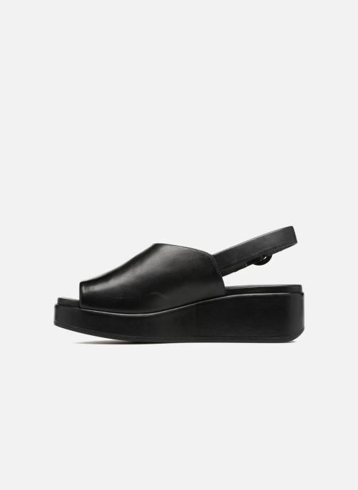 Sandales et nu-pieds Camper Misia 7 Noir vue face