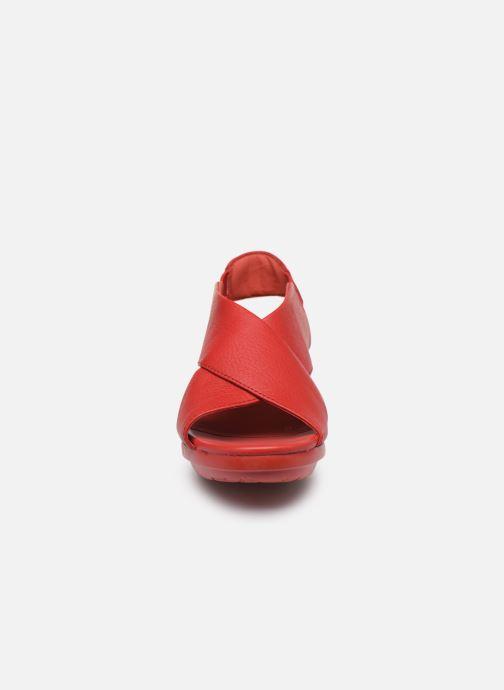 Sandales et nu-pieds Camper Balloon 3 Rouge vue portées chaussures