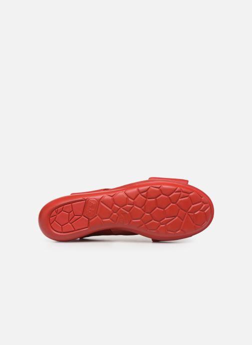 Sandales et nu-pieds Camper Balloon 3 Rouge vue haut