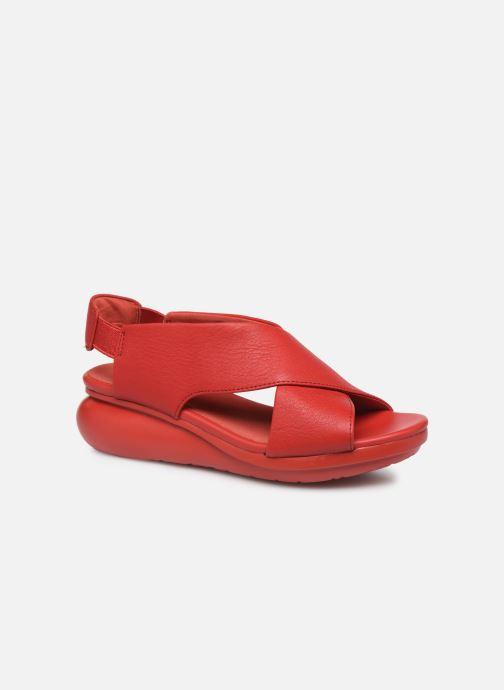Sandales et nu-pieds Camper Balloon 3 Rouge vue détail/paire