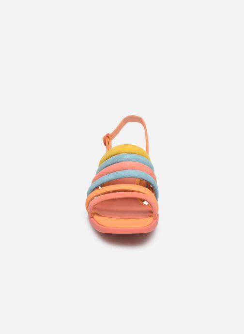Sandales et nu-pieds Camper TWS K200599 Orange vue portées chaussures