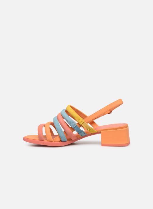 Sandales et nu-pieds Camper TWS K200599 Orange vue face