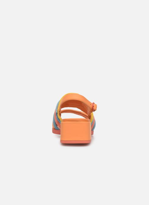 Sandales et nu-pieds Camper TWS K200599 Orange vue droite