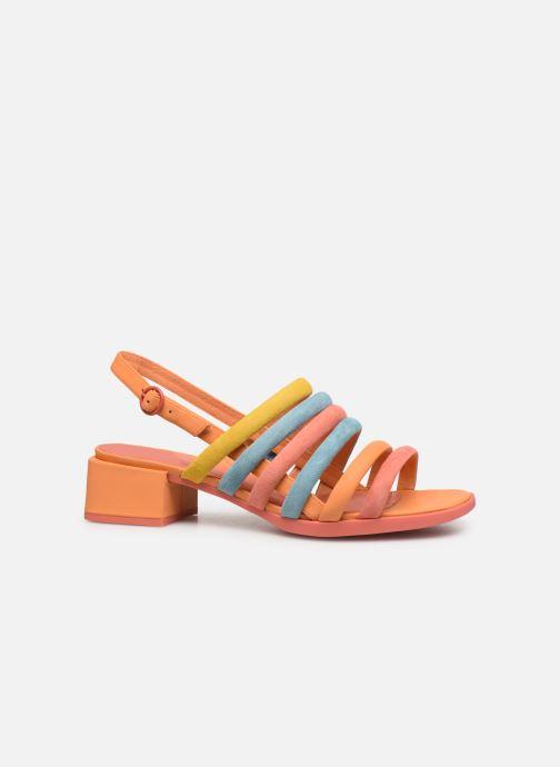 Sandales et nu-pieds Camper TWS K200599 Orange vue derrière