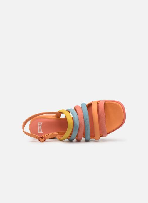 Sandales et nu-pieds Camper TWS K200599 Orange vue gauche