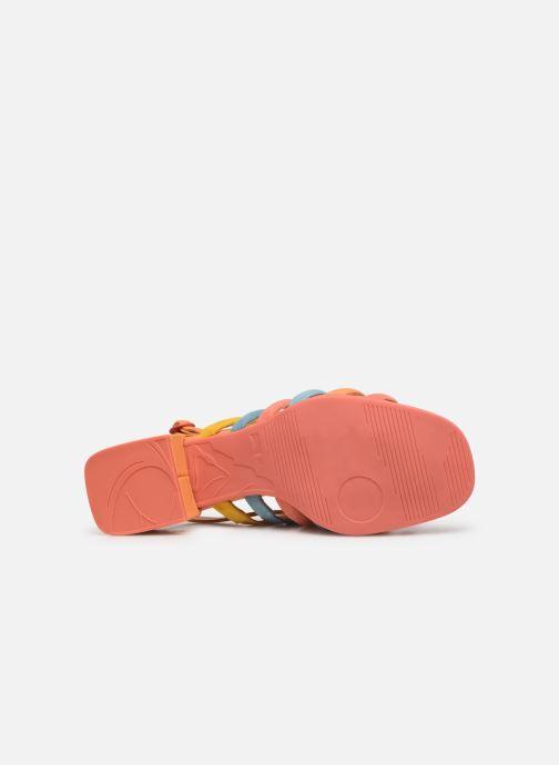 Sandales et nu-pieds Camper TWS K200599 Orange vue haut