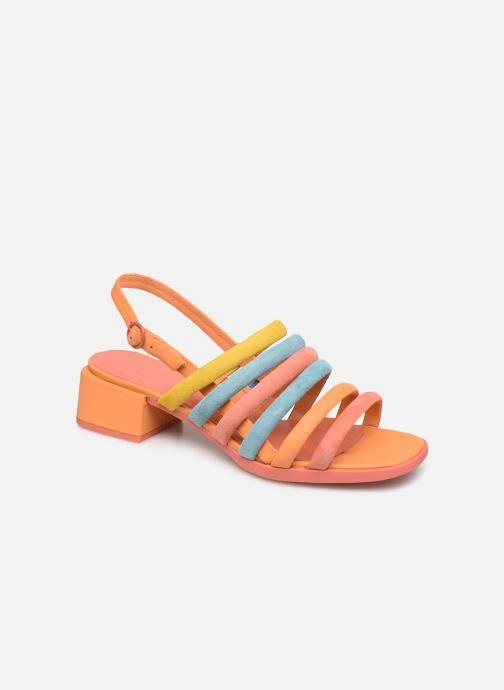 Sandales et nu-pieds Camper TWS K200599 Orange vue détail/paire