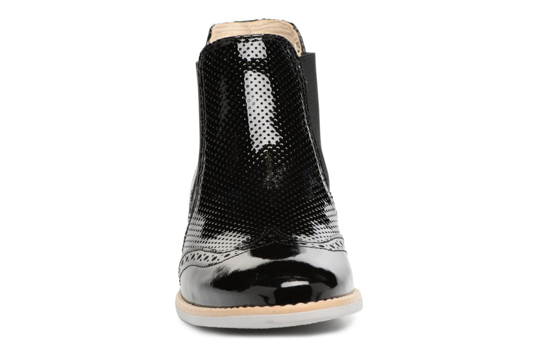 Bottines et boots Georgia Rose Noots Noir vue portées chaussures