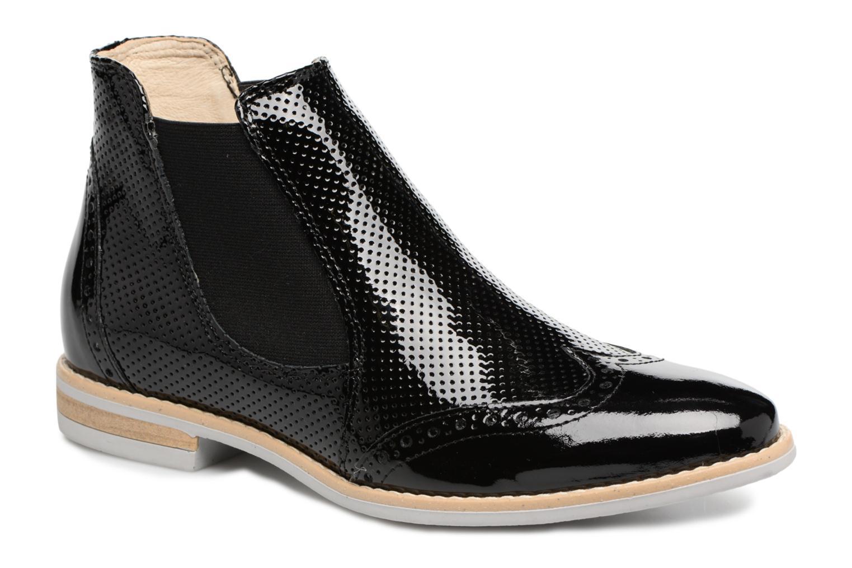 Bottines et boots Georgia Rose Noots Noir vue détail/paire