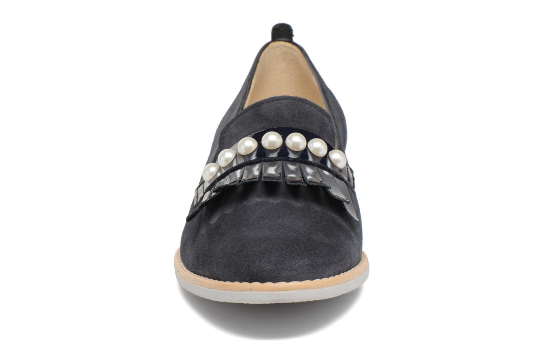 Mocassins Georgia Rose Nalia Bleu vue portées chaussures
