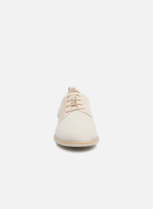 Chaussures à lacets Georgia Rose Ninou Beige vue portées chaussures