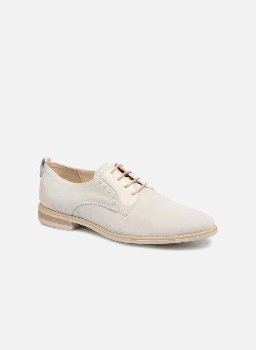 Chaussures à lacets Georgia Rose Ninou Beige vue détail/paire