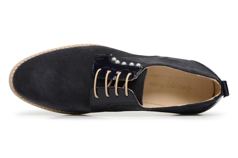 Chaussures à lacets Georgia Rose Ninou Bleu vue gauche