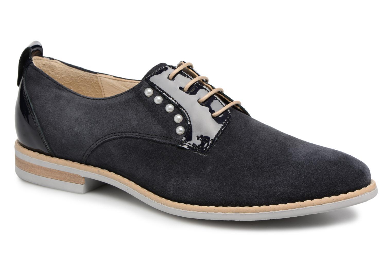 Chaussures à lacets Georgia Rose Ninou Bleu vue détail/paire