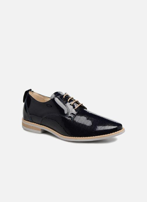 Zapatos con cordones Georgia Rose Nouga Azul vista de detalle / par