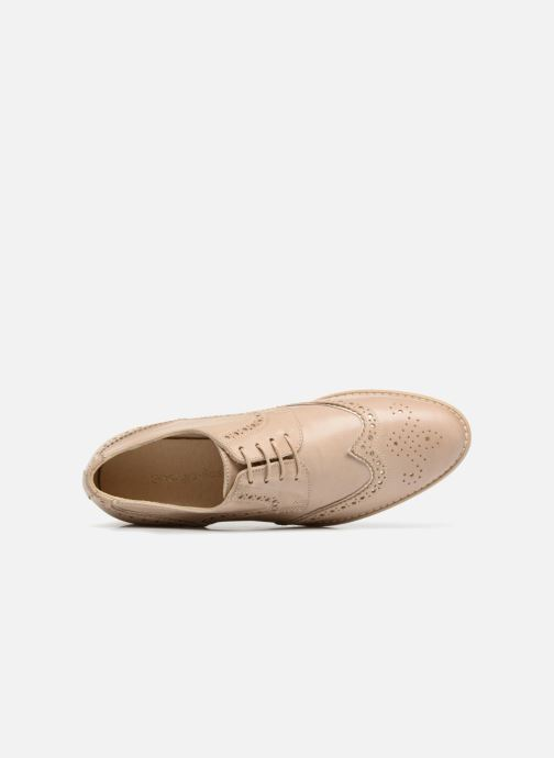 Rose Nissa À Chaussures Lacets Georgia Chez beige 5RwdnSRqa