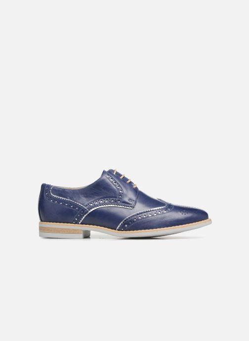 Zapatos con cordones Georgia Rose Nissa Azul vistra trasera